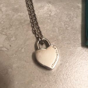 "Tiffany & Co. heart ""I LOVE YOU"" Necklace"